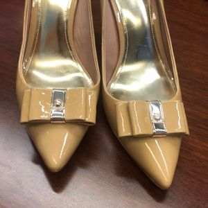 Women's Coach Patent Leather Heels